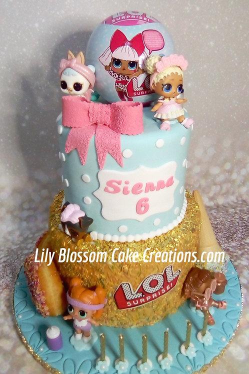 LOL Birthday Cake / Lily Blossom Cake Creations / Liverpool / Merseyside