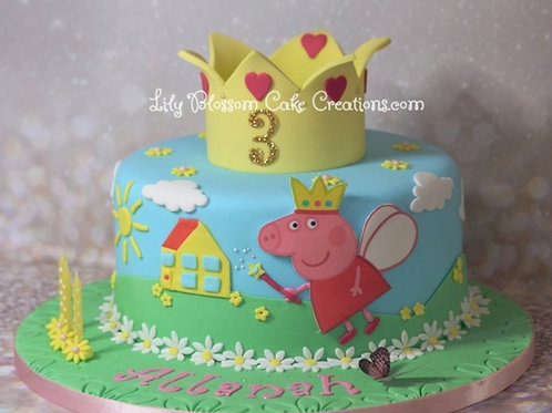 Pepper Pig Birthday Cake / Lily Blossom Cake Creations / Liverpool