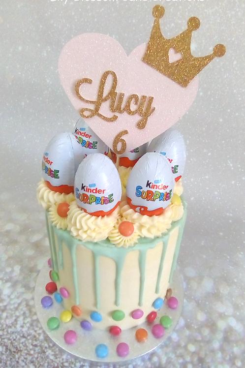 Kinder Surprise Drip Cake