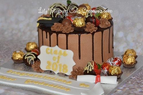 Chocolate Drip Cake / Lily Blossom Cake Creations / Liverpool