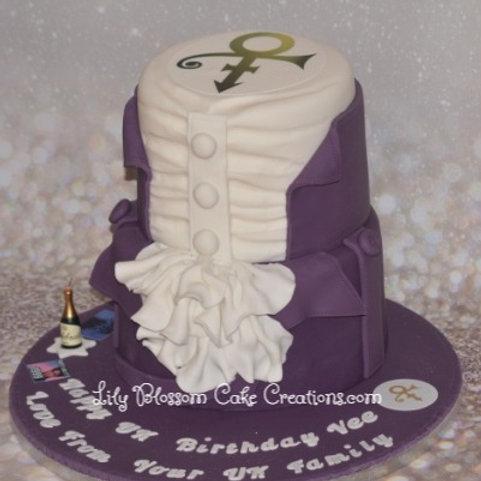 Prince Birthday Cake / Lily Blossom Cake Creations Liverpool