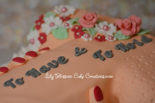 Hen Party Cake Lily Blossom Cake Creations Liverpool