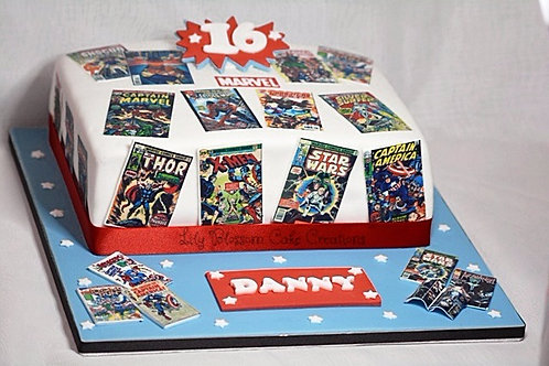 Marvel Cake Liverpool Merseyside