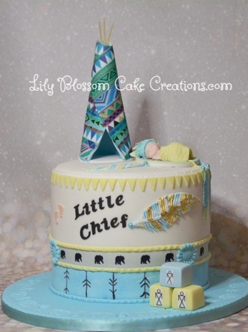 Baby Shower Cake / Lily Blossom Cake Creations / Liverpool