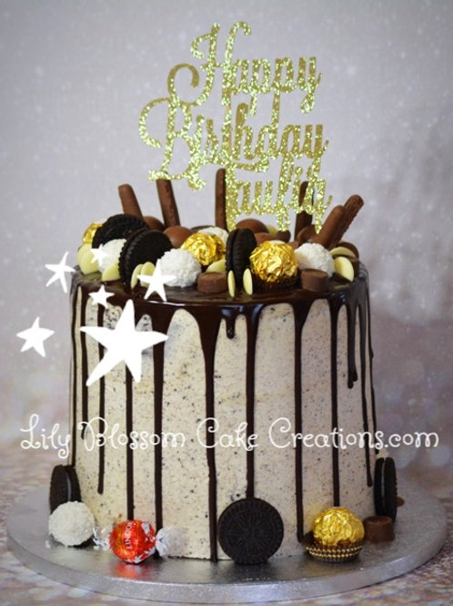 Chocolate Drip Cake / Lily Blossom Cake Creations / Liverpool