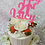 21st Birthday Cake / Lily Blossom Cake Creations / Liverpool
