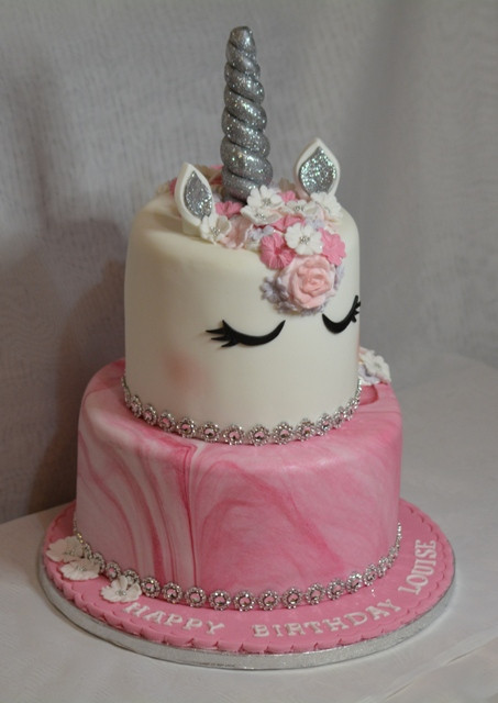 Unicorn Birthday Cake Lily Blossom Creations Liverpool