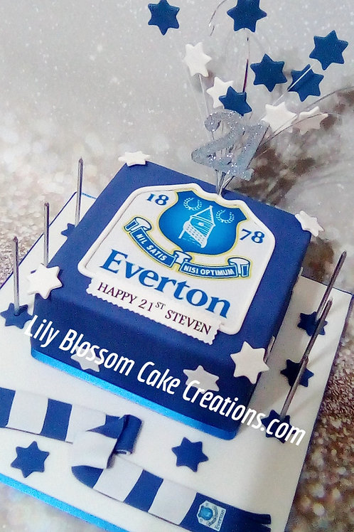 Everton Celebration Cake