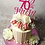Pink Glitter Cake / Lily Blossom Cake Creations / Liverpool
