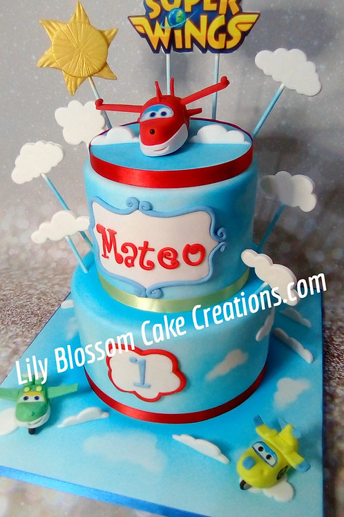 Superwings Cake Liverpool / Lily Blossom Cake Creations  #Superwings #Liverpool