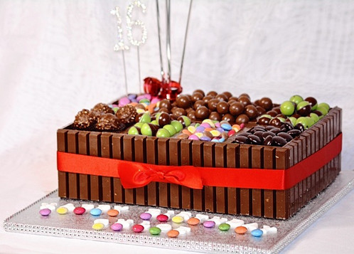 Mega Chocolate Birthday Cake Box Birthday Cakes Liverpool Lily
