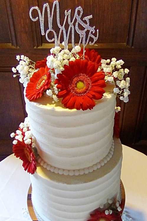 Wedding Cake / Lily Blossom Cake Creations / Liverpool