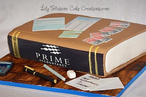 Accountant Bookeeper Birthday cake Liverpool merseyside