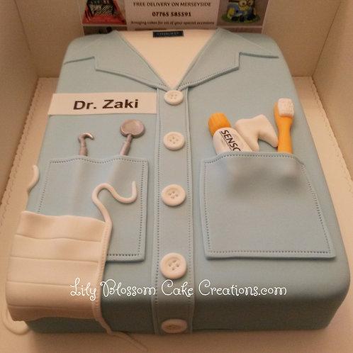 Graduation Cake / Lily Blossom Cake Creations / Liverpool