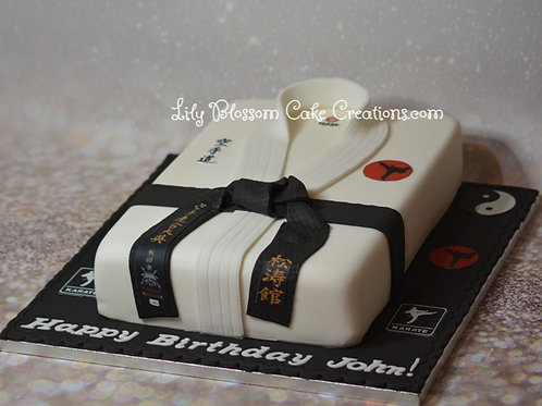 Karate Cake Liverpool / Lily Blossom Cake Creations