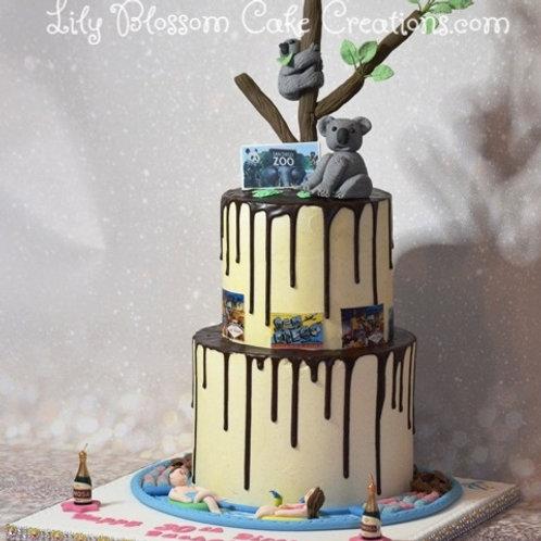 Koala Bear Cake / Lily Blossom Cake Creations / Liverpool