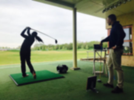 SGGT Europe using the Trackman4 Launch Monitor