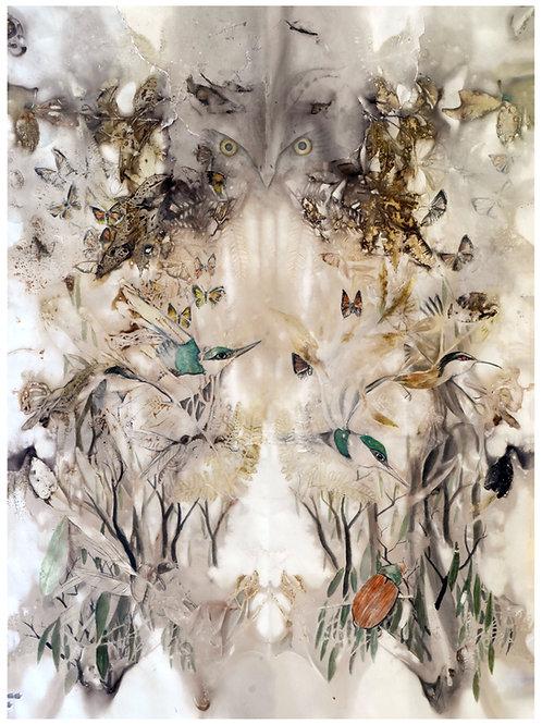 'Silent Creatures' a3 archival print