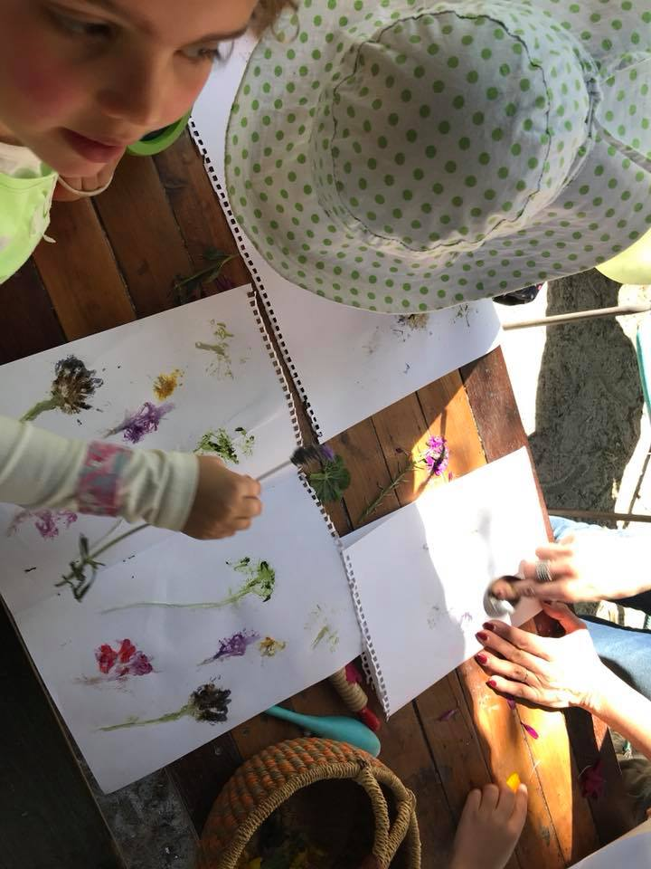 printing with flowers