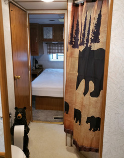 "Travel trailer ""cabin"""