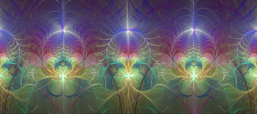 fractal art door Mariella Wassing - Ascension Design
