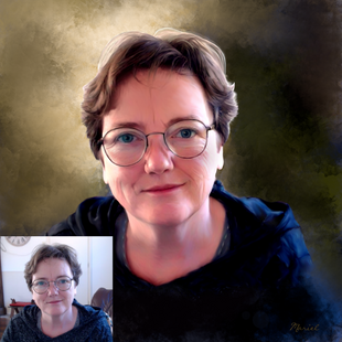 digitaal portret