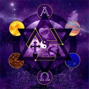 spirituele collage