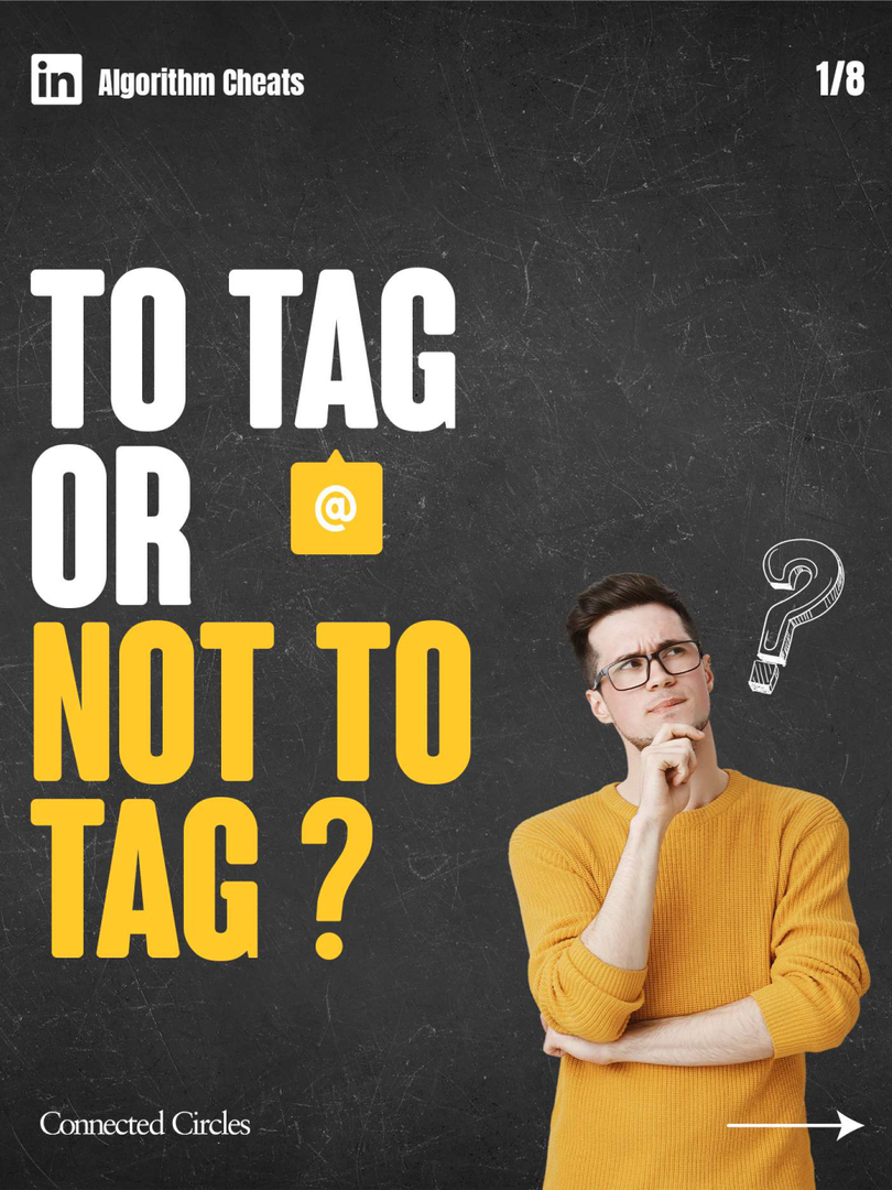 To tag or not to tag?