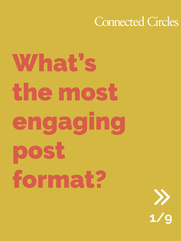 What's the most engaging format on LinkedIn?