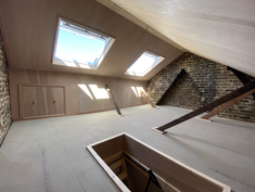 Completed luxury storage room in North London
