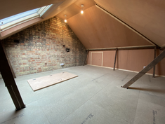 Completed luxury storage room in South London