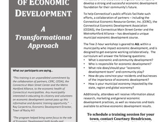 "Join Us for ""Fundamentals of Economic Development"" Workshop"