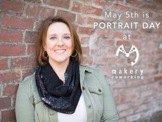 Makery Coworking to Host Portrait Day