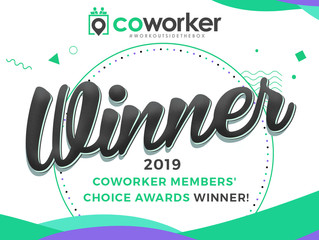 Makery Coworking Wins 2019 Coworking Space Members' Choice Award