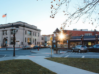 New Milford's Downtown Green--The Perfect Place to Work?