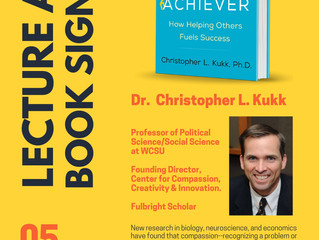Dr. Christopher Kukk Book Lecture & Signing Event