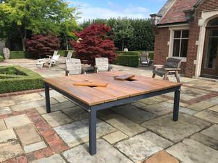 Square Prosecco Patio Table