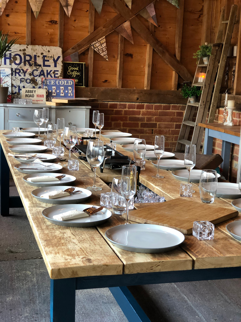 Prosecco Banqueting Dining Table