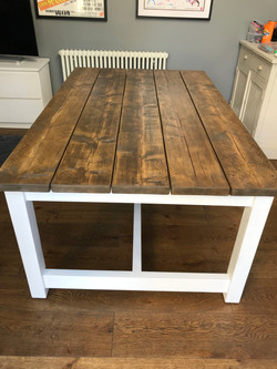 1800mm Rustic Dining Table