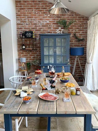 Prosecco Dining Table & 1 Bench