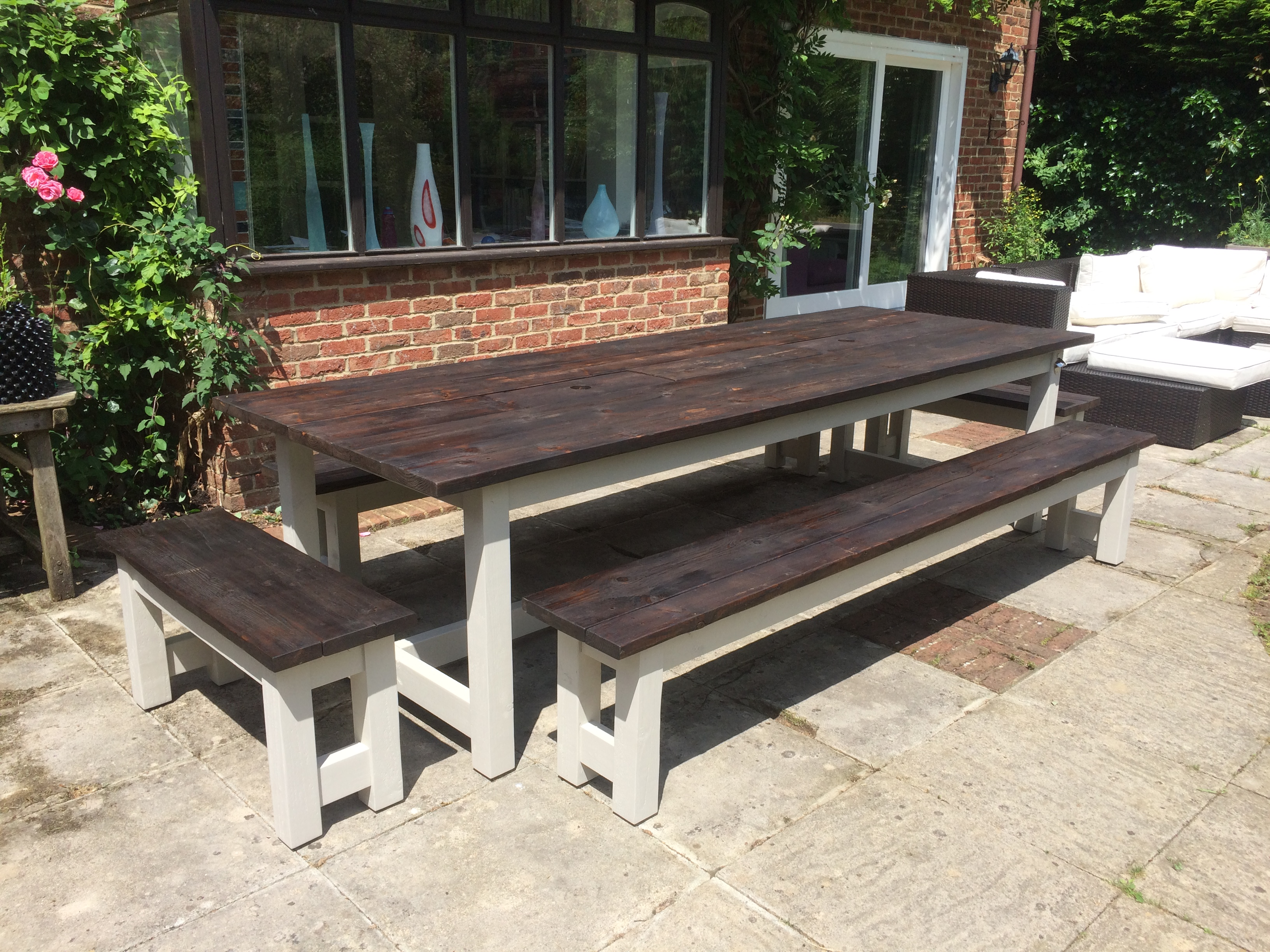 3m Patio table set