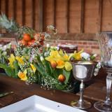 Rustic Prosecco Patio Table