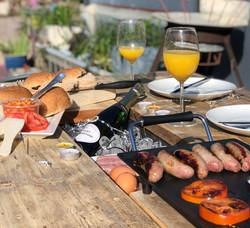 The Prosecco Grill Table