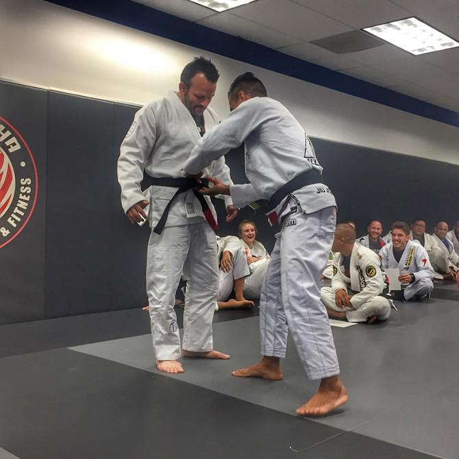 Kenny Gets His Black Belt!!