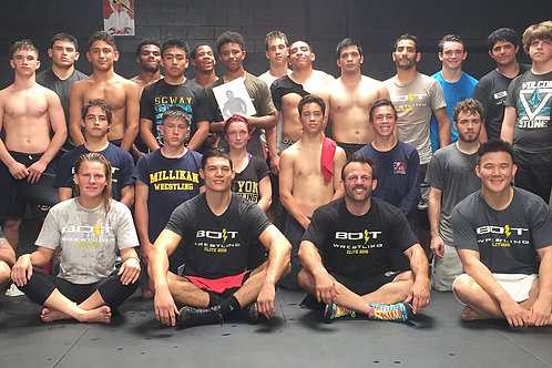 BOLT Wrestling Elite Camp
