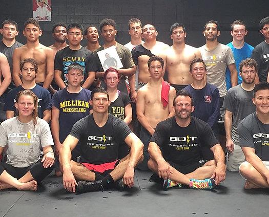 BOLT Wrestling Elite Camp