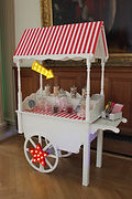 Traditional Candy Cart.