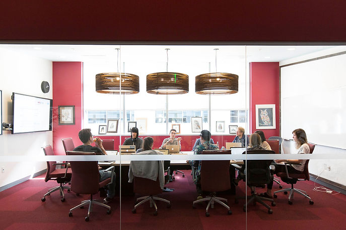 Stripe - conference room in San Francisc