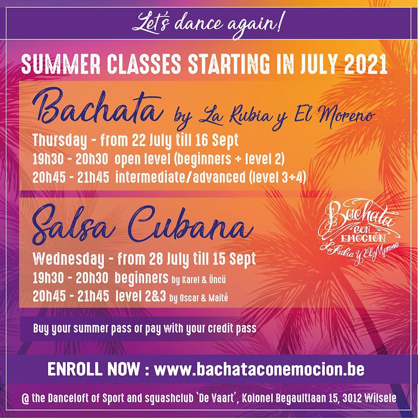 Start New Summer Classes 2021 - Bachata & Salsa Cubana