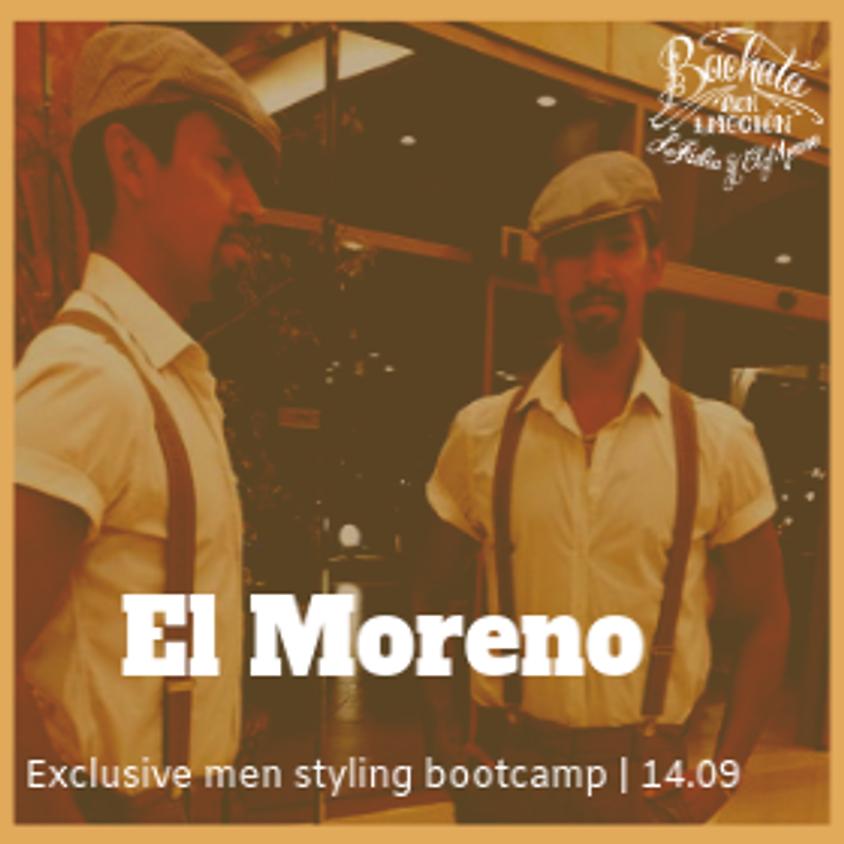 Men Styling Bootcamp Bachata with Oscar 'El Moreno'
